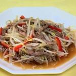 銀針もやしのチンジャオロースー・もやしの肉天レシピ!NHKきょうの料理は山本麗子の中国風料理