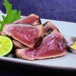 かつおの塩たたき・かつおのにんにくじょうゆ焼きレシピ!NHKきょうの料理は大原千鶴の魚料理