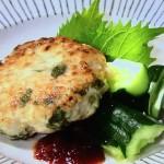 青じそたっぷりチキンバーグ・豚なす青じそレシピ!NHKきょうの料理は本田明子