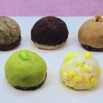 カラフルおはぎは小豆・とうもろこし・枝豆・ほうじ茶・くるみの5種類おはぎ!NHKきょうの料理