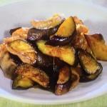 NHKきょうの料理ビギナーズはなすと豚肉の酢じょうゆ炒め・なすの含め煮レシピ!