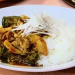 サッとチャイナカレー・シーフードとアボカドの豆乳カレーレシピ!NHKきょうの料理はほりえひろ子