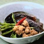 なすと鶏肉のほたほた煮・なすと牛肉のごまみそ炒め・なすとさけのはさみ揚げレシピ!NHKきょうの料理は松本忠子