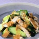 NHKきょうの料理ビギナーズはきゅうりと蒸し鶏のごまだれ・きゅうりと豚肉の甘酢炒めレシピ!
