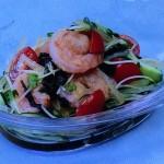 焼きえびの和風サラダ・えびとなすのしょうがあんかけレシピ!きょうの料理は大原千鶴