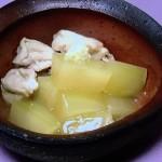 とうがんと鶏のくずひき・豚ヒレの梅酒みそ焼き野菜添え・揚げあじの香味とろろ酢レシピ!きょうの料理