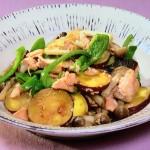 さけとおさつのちゃんちゃん焼き風・さばとしいたけの竜田揚げレシピ!NHKきょうの料理は斉藤辰夫