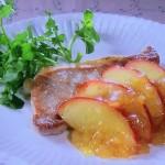NHKきょうの料理ビギナーズは豚肉とりんごのソテー・鶏肉とりんごのはちみつじょうゆ煮レシピ!