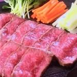 NHKきょうの料理ビギナーズは牛肉のたたき・ガーリックステーキレシピ!