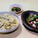 NHKきょうの料理は菜の花とたこの香味炒め・青菜の水餃子レシピ!コウ静子