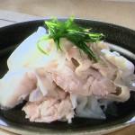 NHKきょうの料理ビギナーズは豚肉と大根の重ね蒸し・豚肉ロール蒸しレシピ!