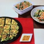 NHKきょうの料理はおかずナムル・かきと細ねぎのフワもちチヂミレシピ!新定番料理