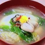 NHKきょうの料理はかきと白菜のトロッと煮・かきフライレシピ!大原千鶴