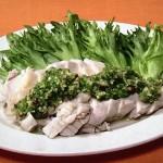 NHKきょうの料理は蒸し鶏のジャオマソースがけ・ねぎとりんごのチーズサラダレシピ!