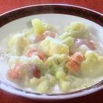 NHKきょうの料理ビギナーズはカリフラワーとえびのシチュー・カリフラワーとソーセージのバターじょうゆ炒めレシピ!