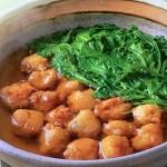 NHKきょうの料理は海鮮だんごと春菊の鍋・ぶりとせりのしゃぶしゃぶレシピ!白井操