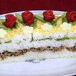 NHKきょうの料理はケーキのような押しずし!ひな祭りに最適・牛乳パックで作れます!