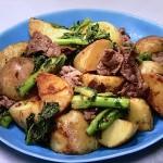 NHKきょうの料理は新じゃがと牛肉のマスタード炒め・新じゃがのうま辛煮っころがしレシピ!