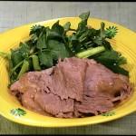NHKきょうの料理はクレソンと牛しゃぶのマヨポン・葉わさびのいなりずし。ふきと鶏肉の煮物レシピ!