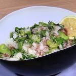 NHKきょうの料理はそら豆と生ハムのクレソンご飯・新ごぼうと新しょうがのきんぴら・春の豆ちらしレシピ!