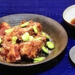 NHKきょうの料理はかつおとそら豆のおかか揚げ・たこ豆ご飯レシピ!斉藤辰夫