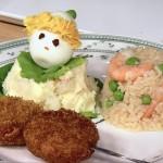 NHKきょうの料理は谷原章介の子どもランチ・肉団子の野菜蒸しレシピ!昭和33年のレシピを再現