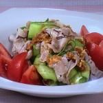 NHKきょうの料理ビギナーズは豚しゃぶサラダ・まぐろ、アボカド、キムチのサラダレシピ!