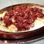 NHKきょうの料理はコンビーフとポテトのグリル・豆とうずらの卵のサラダ・切り干しだいこんと豚肉とトマト煮レシピ!