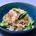 コウケンテツの豆もやしと豚しゃぶの香味サラダ・えびとゴーヤーのコチュジャンサラダレシピ!きょうの料理