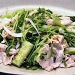NHKきょうの料理は豆苗と豚しゃぶのごまあえ・豆苗とトマトの夏マーボーレシピ!重信初江