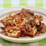 NHKきょうの料理はちぎり厚揚げと豚バラの和風炒め・豚ヒレ肉のたたきレシピ!