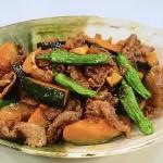 NHKきょうの料理はかぼちゃと牛肉のバターじょうゆ・しょうゆ味でチンジャオロースレシピ!