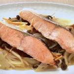NHKきょうの料理はさけと野菜のブレゼ・なすと豚肉の中国風にんにく漬け・菊ごはんレシピ!江上栄子