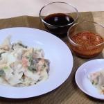 NHKきょうの料理は長芋とえびのワンタン・れんこんの黒酢酢豚レシピ!