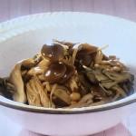 NHKきょうの料理ビギナーズはきのこのつくだ煮・きのこ豚汁レシピ!