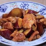 NHKきょうの料理はさつまいもと鶏の甘酢煮レシピ!小林まさる・まさみ