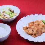 NHKきょうの料理は豚肉みそしょうが焼き・レタスときのこの蒸し煮レシピ!10分献立