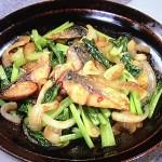 NHKきょうの料理はさばと小松菜のスタミナ炒め・さけカツ煮レシピ!