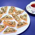 栗原はるみのNHKきょうの料理はえびトースト・えび入り水ギョーザレシピ!