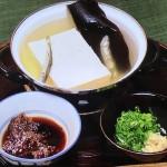 NHKきょうの料理はつけじょうゆで湯豆腐・そばがき・釜揚げうどんレシピ!土井善晴