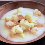 NHKきょうの料理は鶏むね肉とカリフラワーのクリーム煮・たまねぎハムカツ・厚揚げのしょうが焼きのっけレシピ!