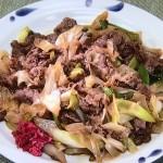 NHKきょうの料理はねぎと牛肉炒め・ねぎときのこのグラタンレシピ!