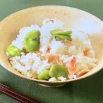 NHKきょうの料理ビギナーズはそら豆と桜えびの炊き込みご飯・あさりとしょうがの炊き込みご飯レシピ!