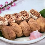 NHKきょうの料理は甘煮くるみのおいなりさんレシピ!しらいのりこ