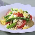 NHKきょうの料理ビギナーズは春のニース風サラダ・春野菜のシーザー風豆腐ディップレシピ!