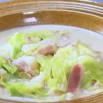 NHKきょうの料理ビギナーズはキャベツの豆乳スープ・にんじんポタージュレシピ!