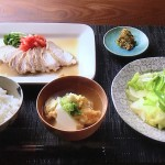 NHKきょうの料理は大原千鶴の仕込みごはんレシピ!しっとり鶏ロース・蒸し野菜じゃこみそ添え・豆腐の卵とろみ汁