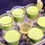 栗原はるみの新緑の抹茶プリン・青じそと黒ごまのそぼろご飯レシピ!NHKきょうの料理